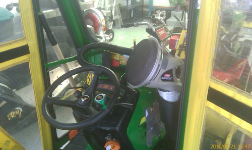 Propane Cab Heat Its Sweet Pics Mytractorforum Com