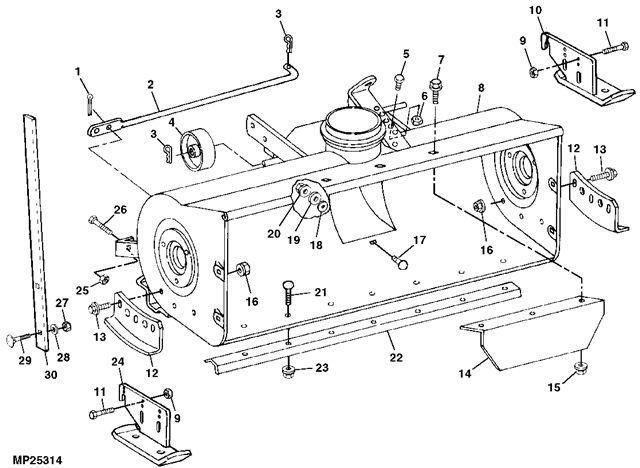 John Deere Stabilizer Bars : Mytractorforum the friendliest tractor forum and